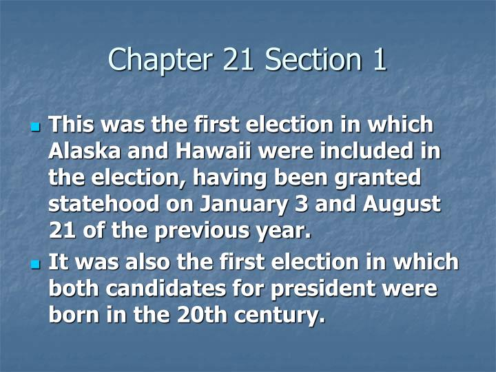 Chapter 21 section 12