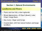 section 1 natural environments1