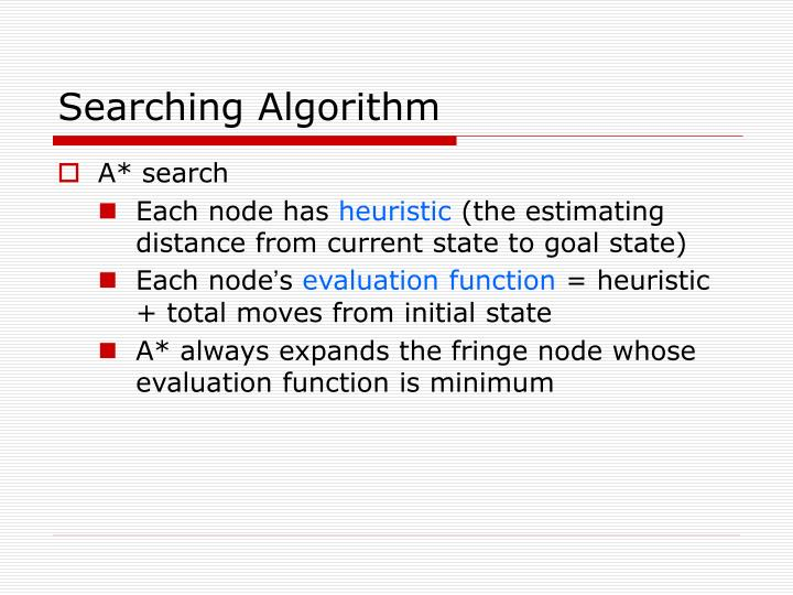 Searching Algorithm