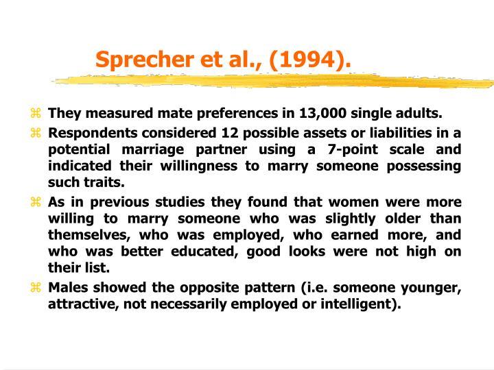 Sprecher et al., (1994).