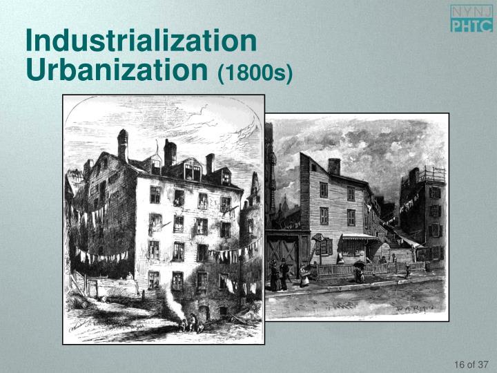 Urbanization 1800s PPT - A Brief H...