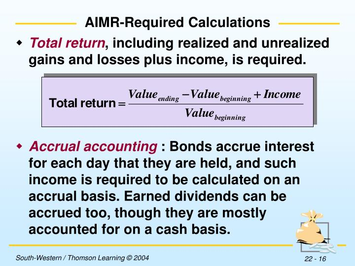 AIMR-Required Calculations