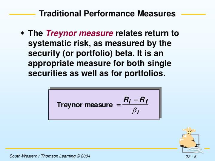 Traditional Performance Measures