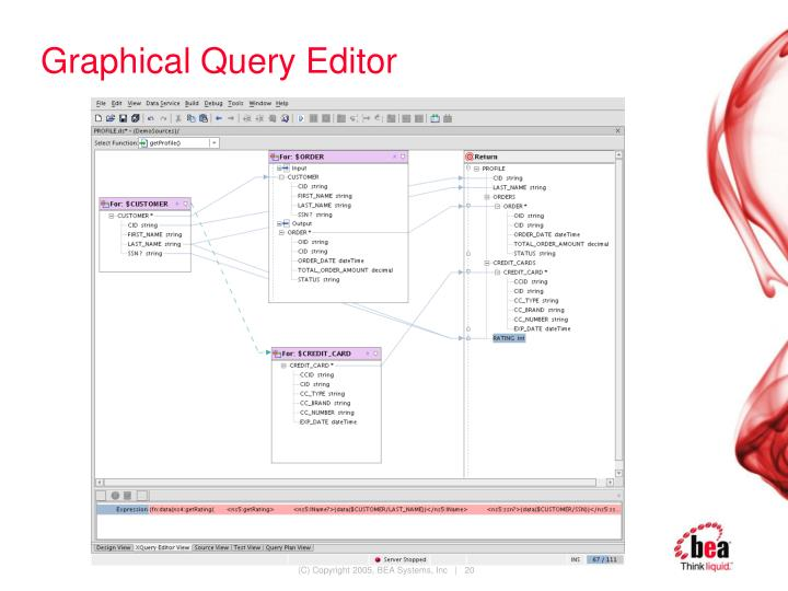 Graphical Query Editor