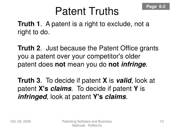 Patent Truths