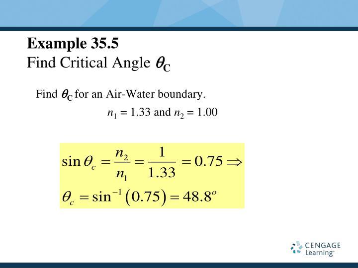 Example 35.5