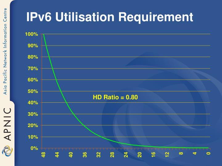 IPv6 Utilisation Requirement