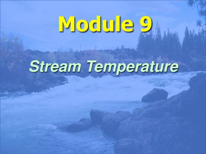 Stream Temperature
