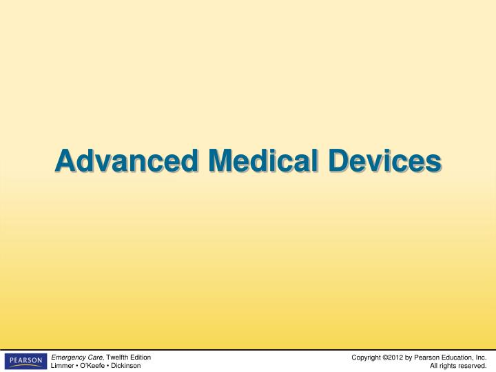 Advanced Medical Devices