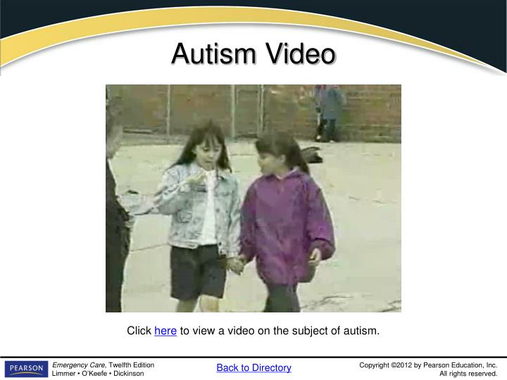 Autism Video