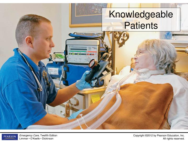 Knowledgeable Patients