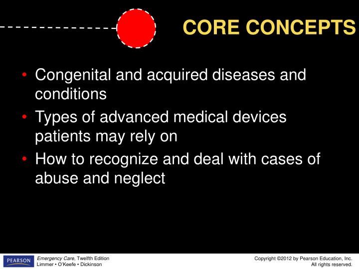 Congenital and acquired diseases and conditions