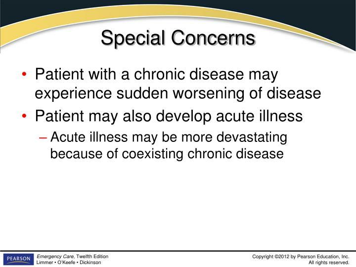 Special Concerns
