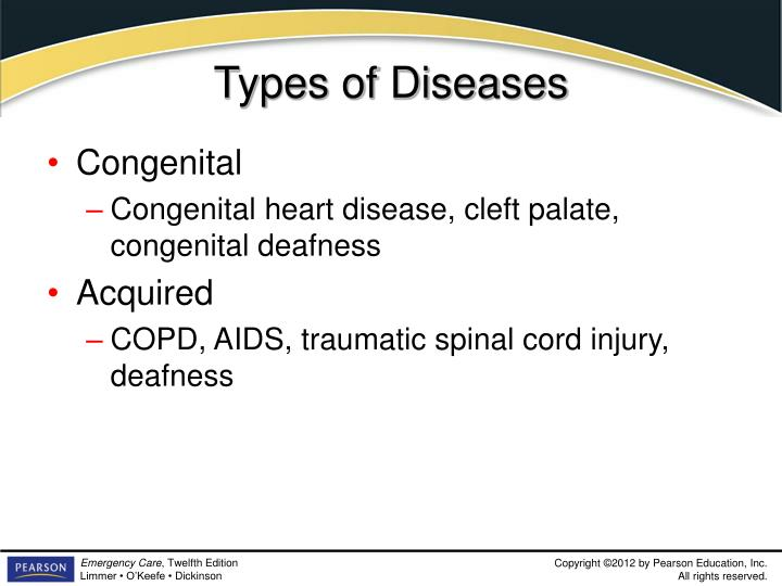 Types of Diseases