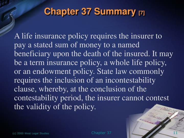 Chapter 37 Summary