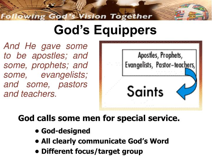 God's Equippers
