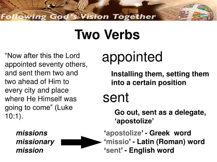 Two Verbs