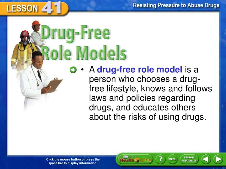 Drug-Free Role Models