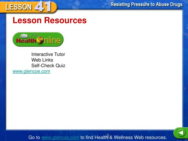 Lesson Resources