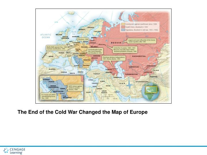 The End of the Cold War Changed the Map of Europe