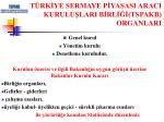 t rk ye sermaye p yasasi araci kurulu lari b rl tspakb organlari