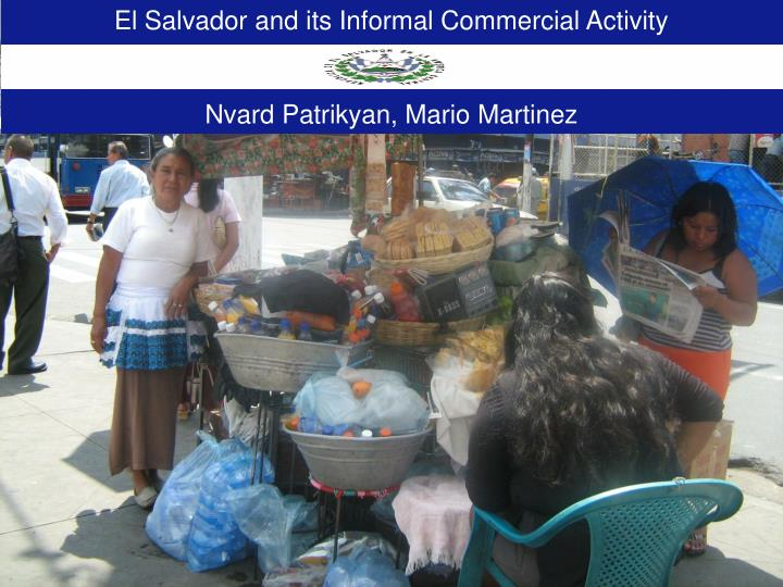 El Salvador and its Informal Commercial Activity