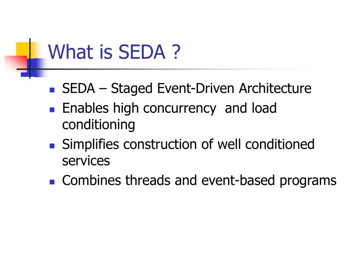 What is seda
