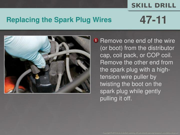 Replacing the Spark Plug Wires
