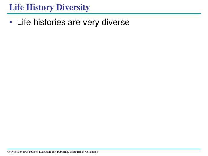 Life History Diversity