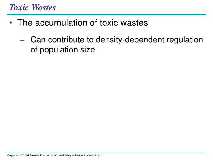 Toxic Wastes
