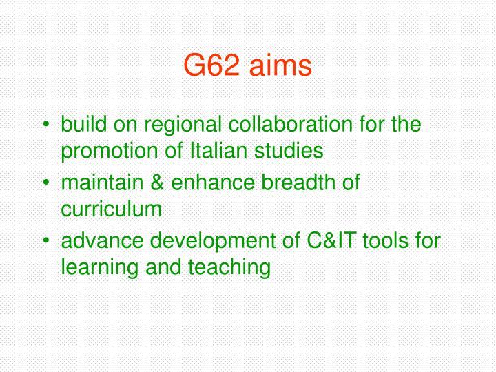 G62 aims