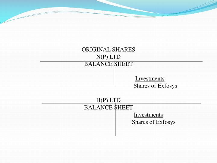 ORIGINAL SHARES