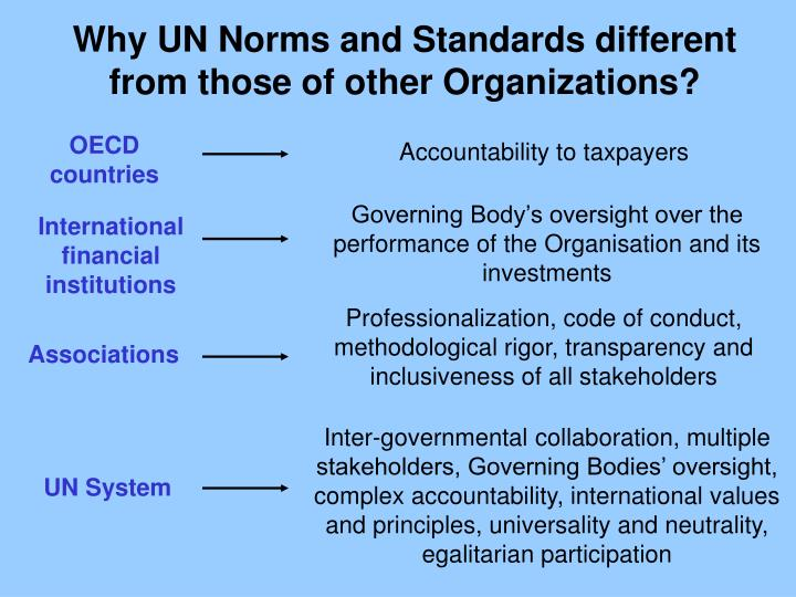 Why UN Norms and Standards