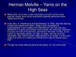 herman melville yarns on the high seas