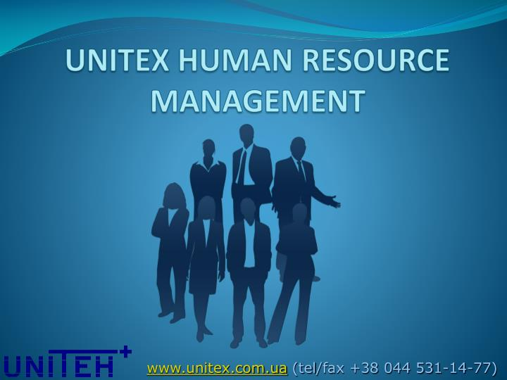 UNITEX HUMAN RESOURCE MANAGEMENT