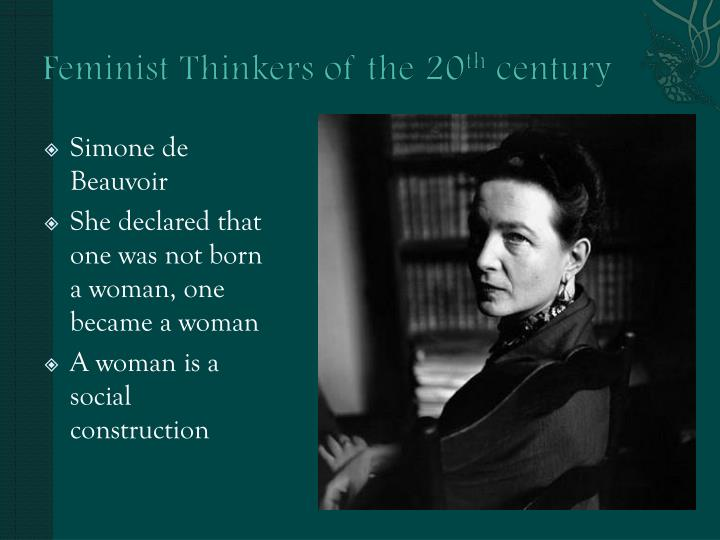 Feminist Thinkers of the 20