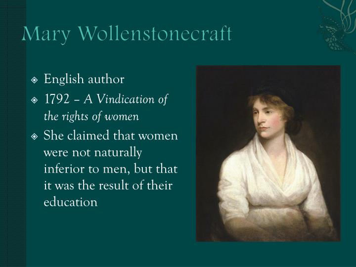 Mary Wollenstonecraft
