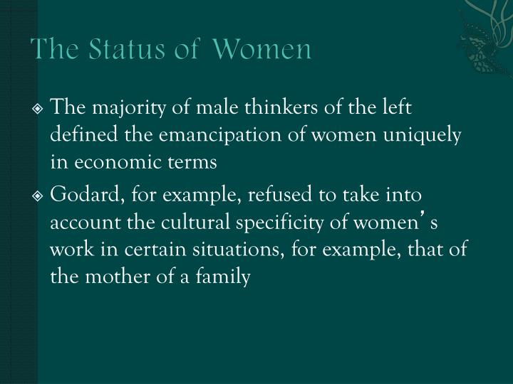 The Status of Women