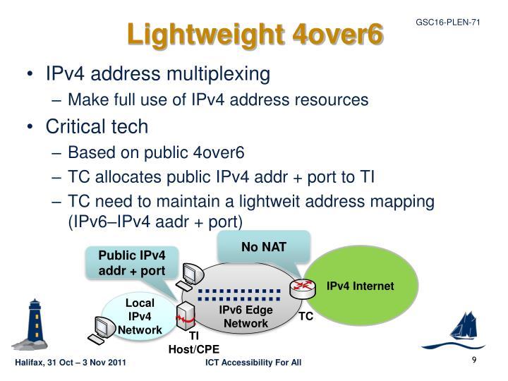 Lightweight 4over6