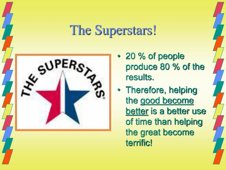 The Superstars!