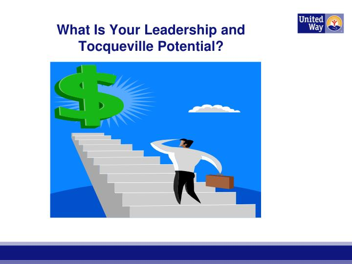 What Is Your Leadership and Tocqueville Potential?