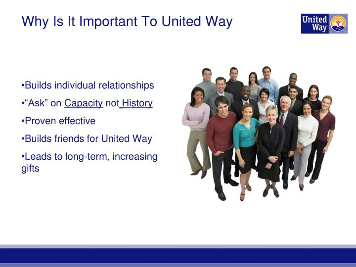 Why Is It Important To United Way