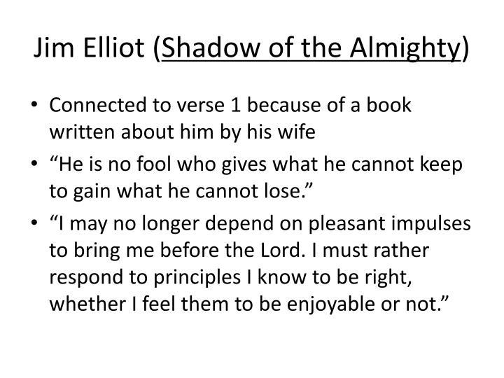 Jim Elliot (