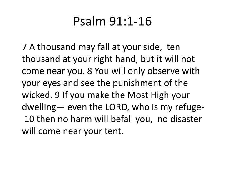 Psalm 91:1-16