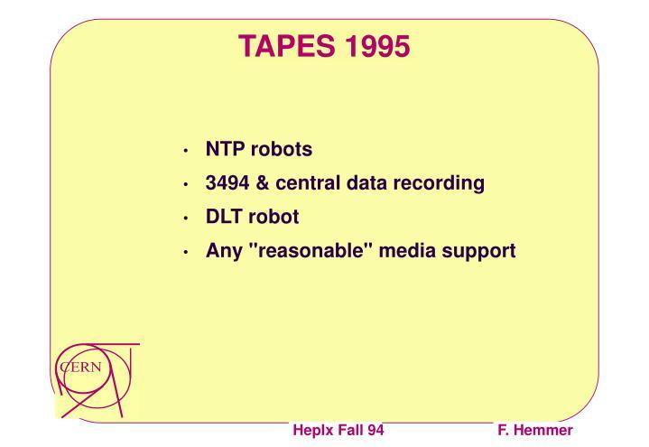 NTP robots