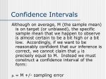 confidence intervals1