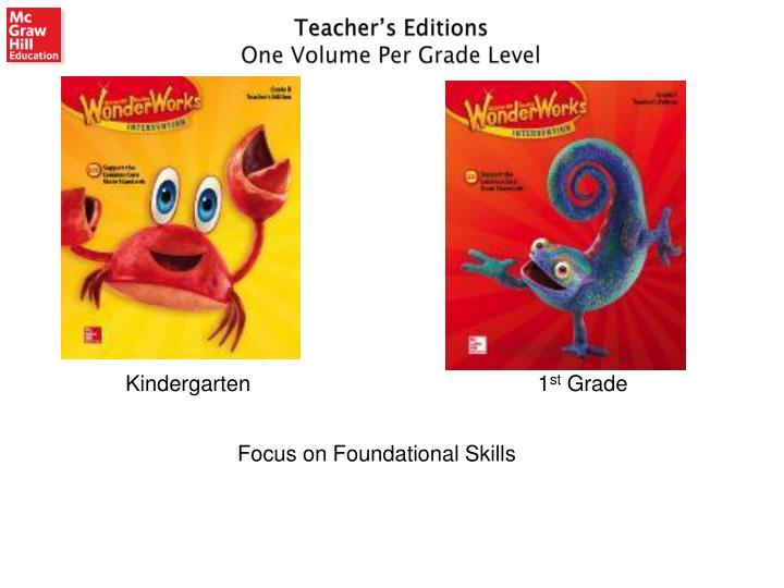 Teacher's Editions
