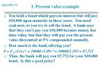 3 present value example
