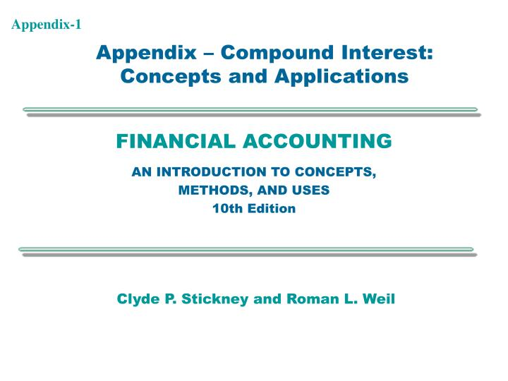 Financial accounting an introduction to concepts methods and uses 10th edition
