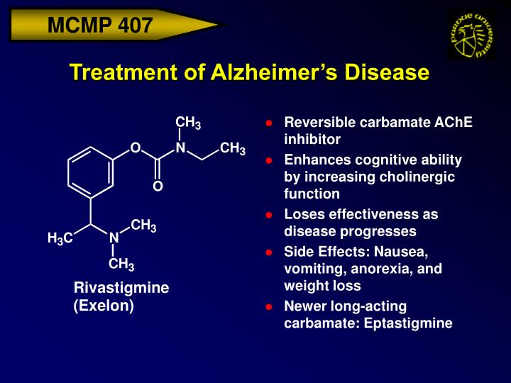 Treatment of Alzheimer's Disease